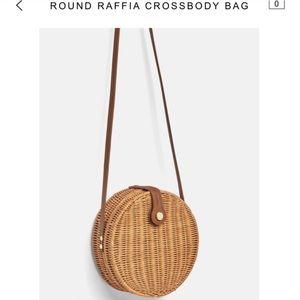 on sale b8451 82cc0 ... EUC Zara Straw Bag ...